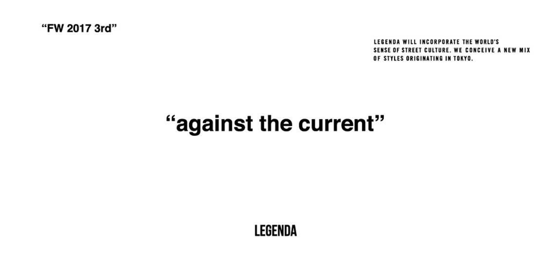 LEGENDA A/W 2017
